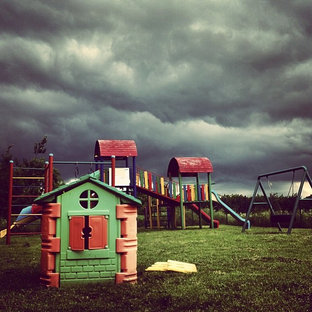 Playground #storm #clouds #Samsung #GalaxyS5