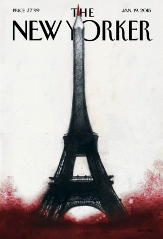 Coperta-omagiu a revistei The New Yorker.