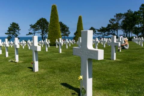 Normandy American cemetery-8680