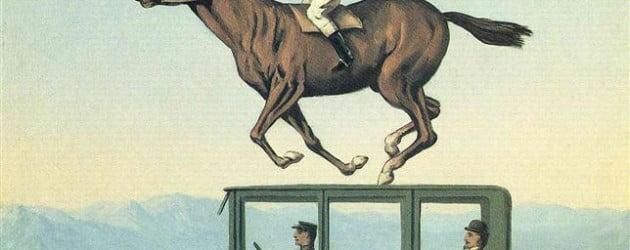 The anger of gods - René Magritte