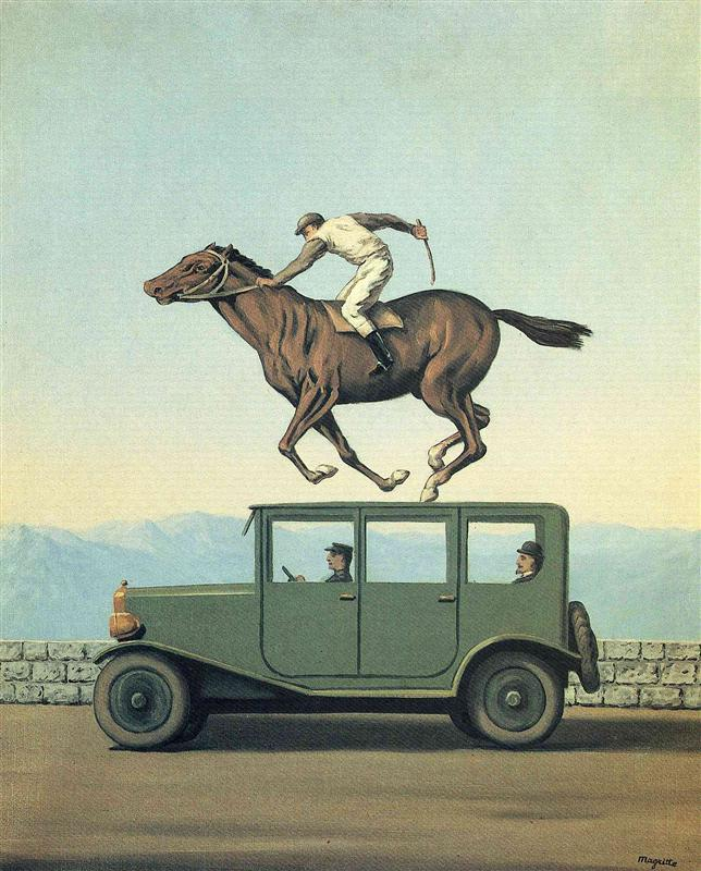 The anger of gods - René Magritte