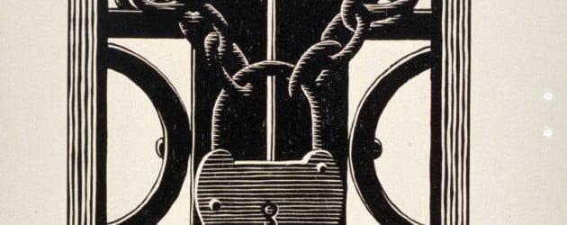 Lacăt - M.C. Escher, 1931