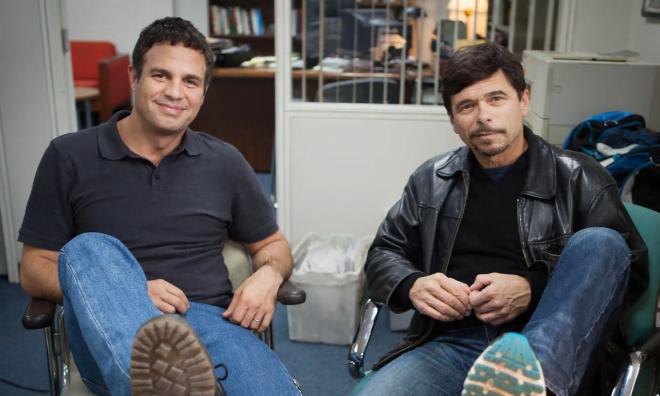 """Mark Ruffalo, nominalizat la Oscar pentru rol secundar, cu jurnalistul Mike Rezendes, al cărui personaj îl interpretează în film, autorul primului articol din seria """"Abuz în Biserica Catolică""""."""