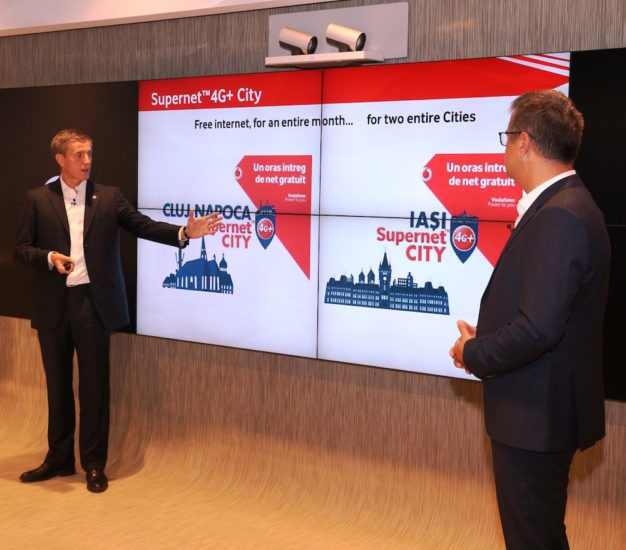 Supernet 4G+ City in Cluj-Napoca si Iasi