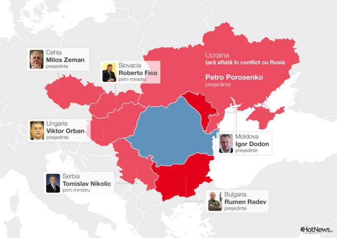 Situația e albastră - infografie Hotnews.