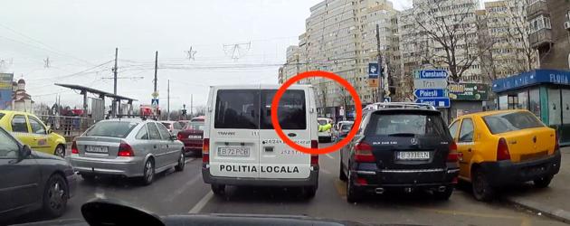 Fotografi cu epoleți la Poliția Locală :)